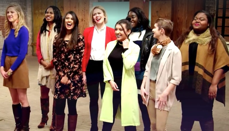 The eight contestants vying for $100,000 of funding in Girl Starter on TLC