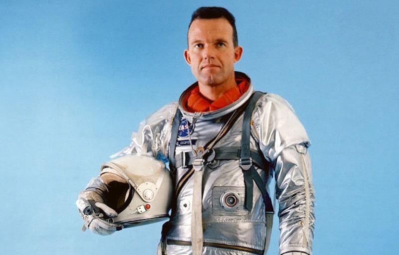 Gordon Cooper during his time as an astronaut. Pic: NASA
