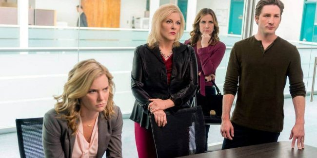 Nancy Grace's Hailey Dean Mystery: Murder, With Love, airs on Hallmark Movies & Mysteries Channel