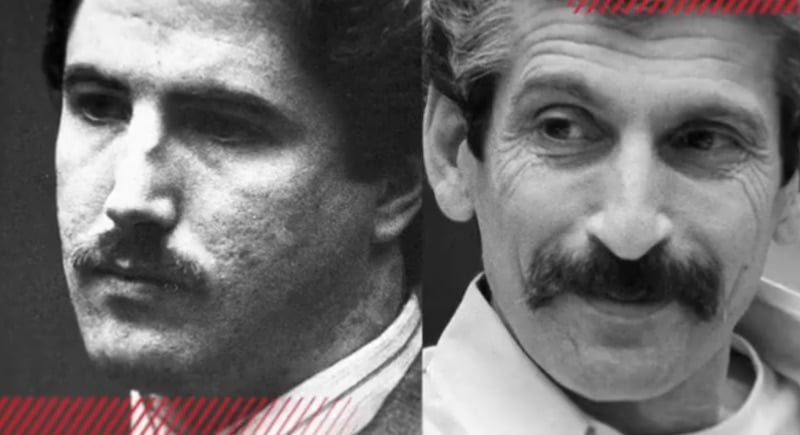 Cousins Kenneth Bianchi, left, and Angelo Buono, who were behind the Hillside Strangler killings