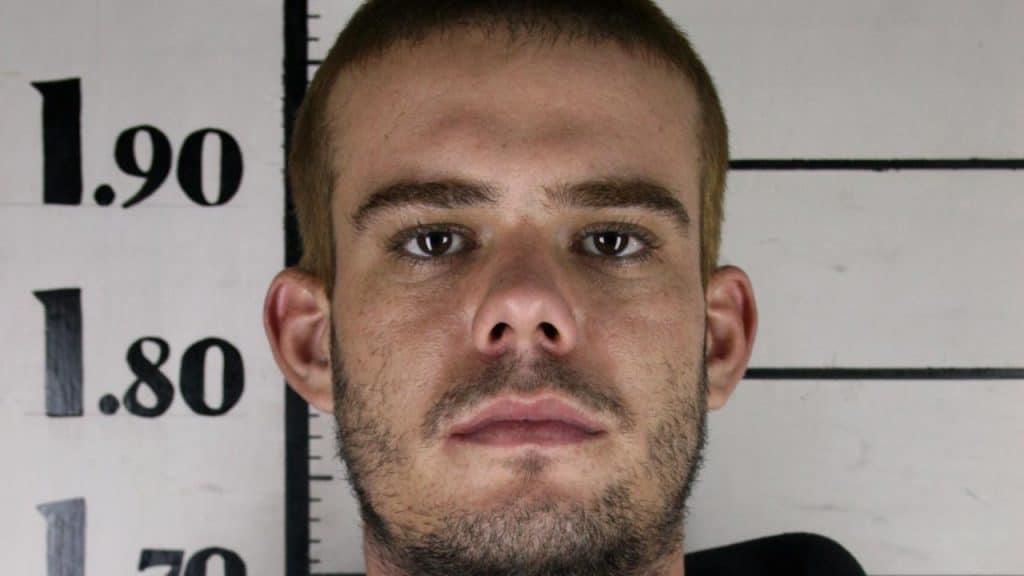 Joran van der Sloot mug shot when he was arrested for the murder of a woman in Peru