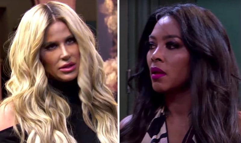 Kim and Kenya argue on The Real Housewives of Atlanta season finale