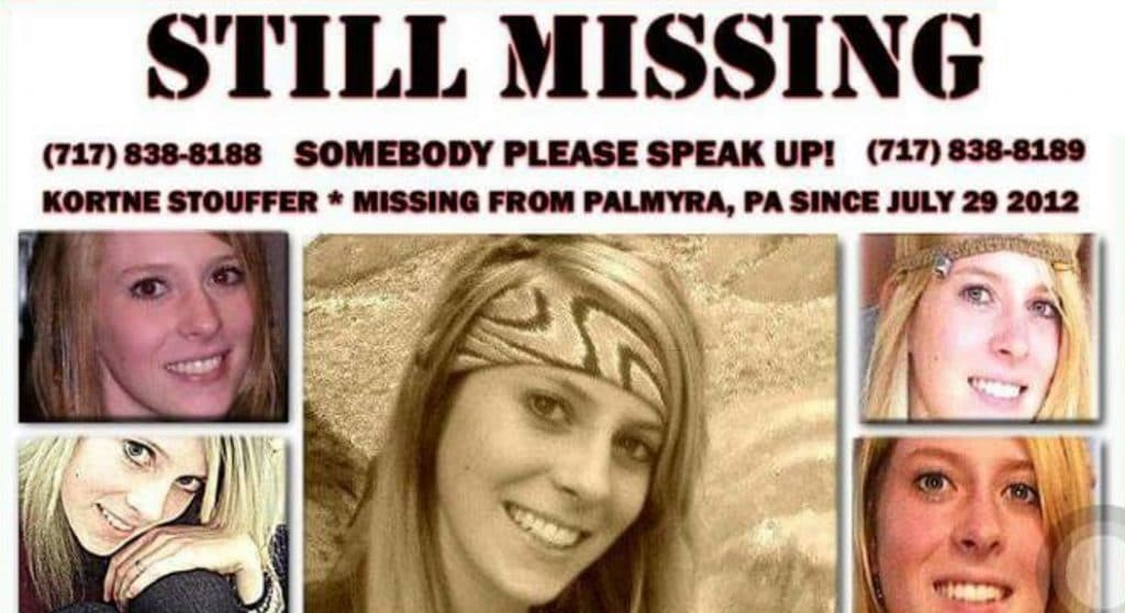 Kortne Stouffer has been missing since 2012