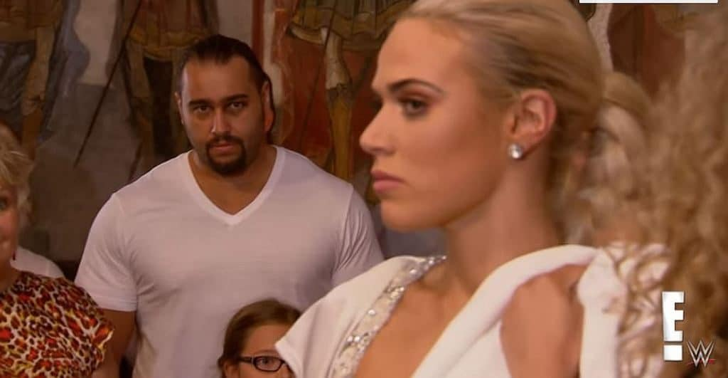 lana angry at rusev 1024x531 - Lana furious at Rusev during Greek Orthodox christening in Bulgaria on Total Divas