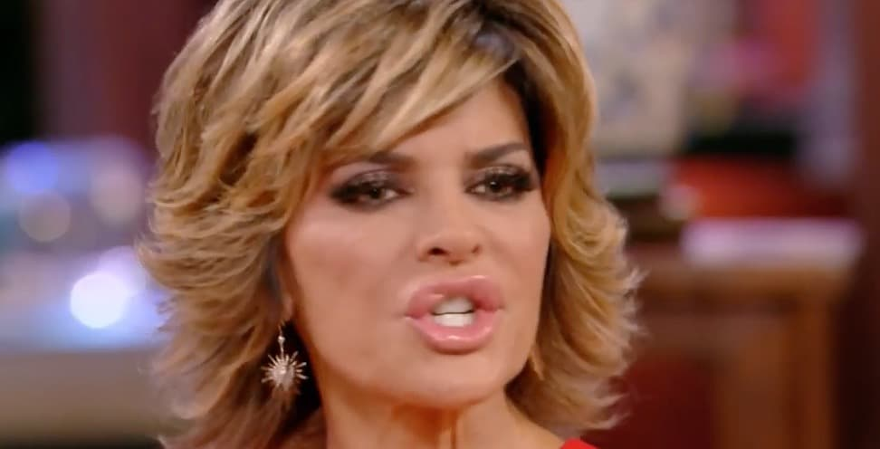 Lisa Rinna reminds Dorit that she has a big mouth too and that she should shut it
