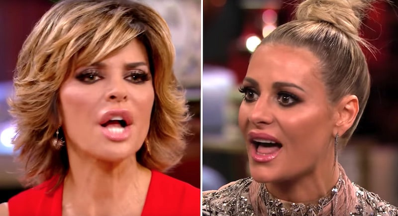 Lisa Rinna in epic clash with Dorit Kemsley on RHOBH reunion