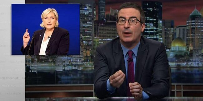 Last Week Tonight's John Oliver begs France not to screw up like UK and USA