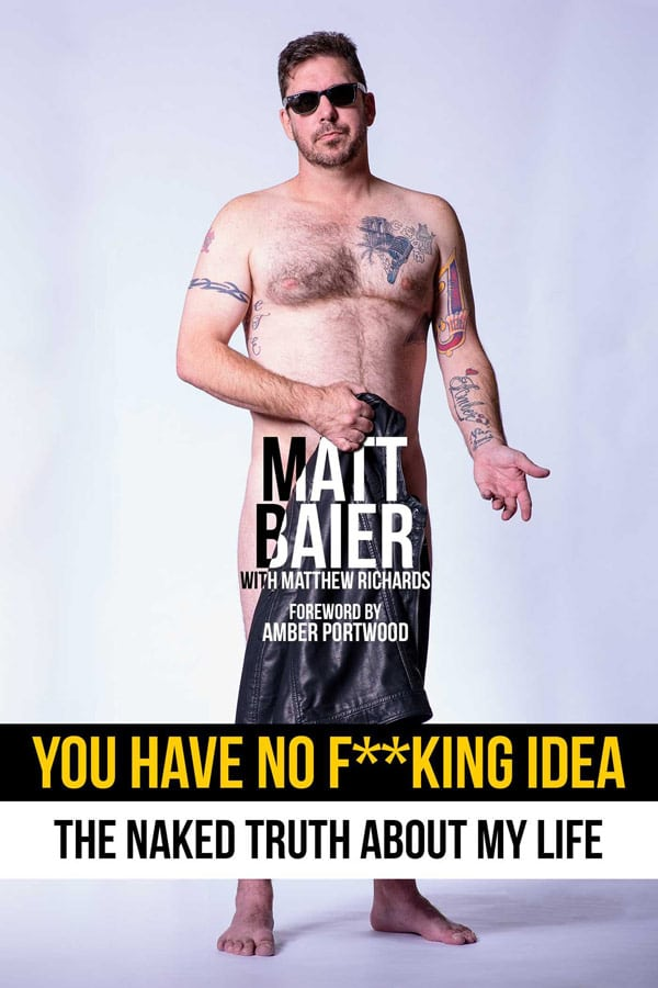 The cover of Matt's new book, You Have No F**king Idea