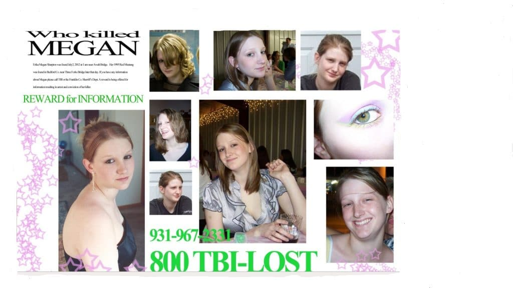 Murder Comes To Town Investigates Tragedy Of Megan