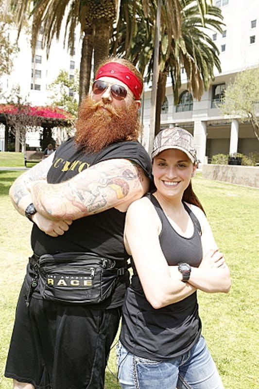 mikea and liz - The Amazing Race recap: The don't get your testicles in a wad edition