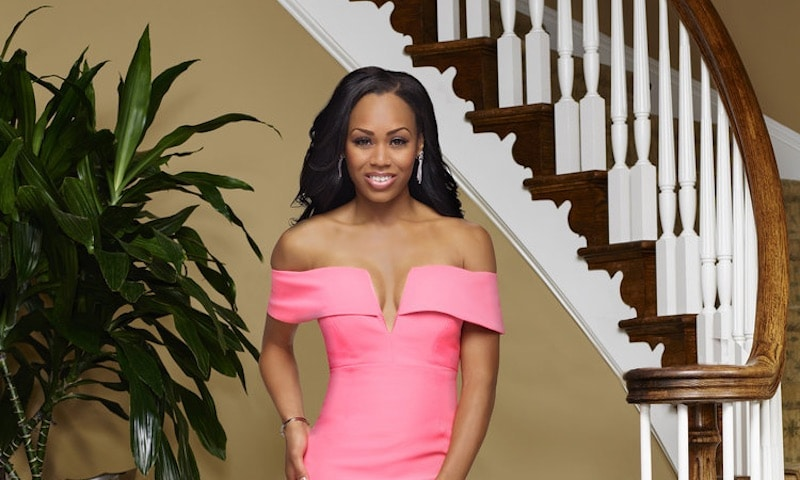 Monique Samuels in her promotional photo for The Real Housewives of Potomac on Bravo