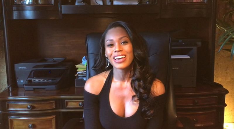 Exclusive video: New girl Monique Samuels talks about joining the catty women of The Real Housewives of Potomac