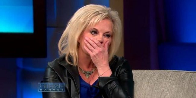 Nancy Grace screams when she hears Casey Anthony, O.J. Simpson brought up on Steve Harvey Show