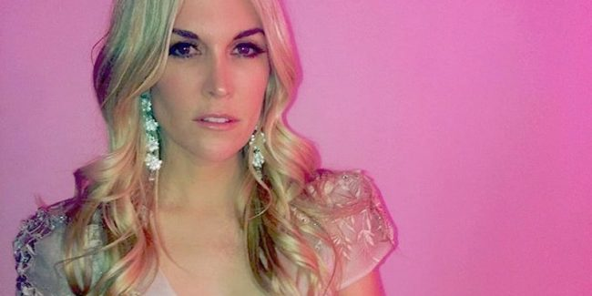 New RHONY star Tinsley Mortimer in a photo from her Instagram