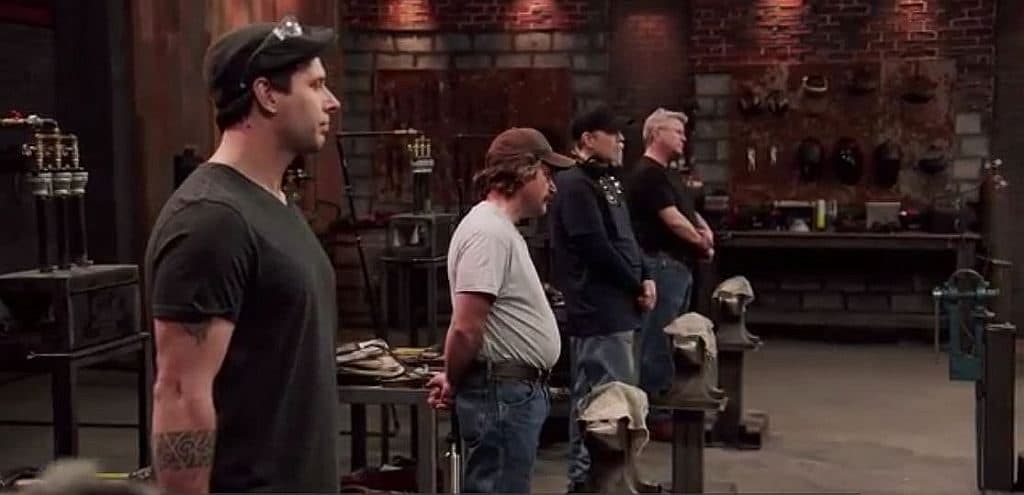 The four contestants taking part in this week's Forged In Fire