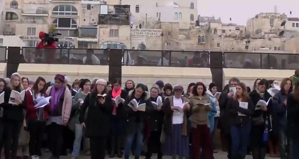 women stay out 1024x545 - Reza Aslan drinks a bit of Haredi kosher Kool-Aid in Jerusalem on next CNN Believer