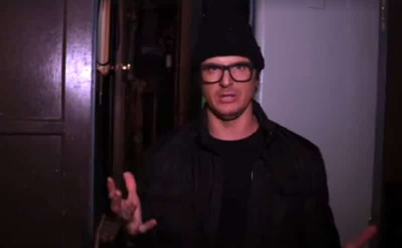 Zak Bagans on Ghost Adventures