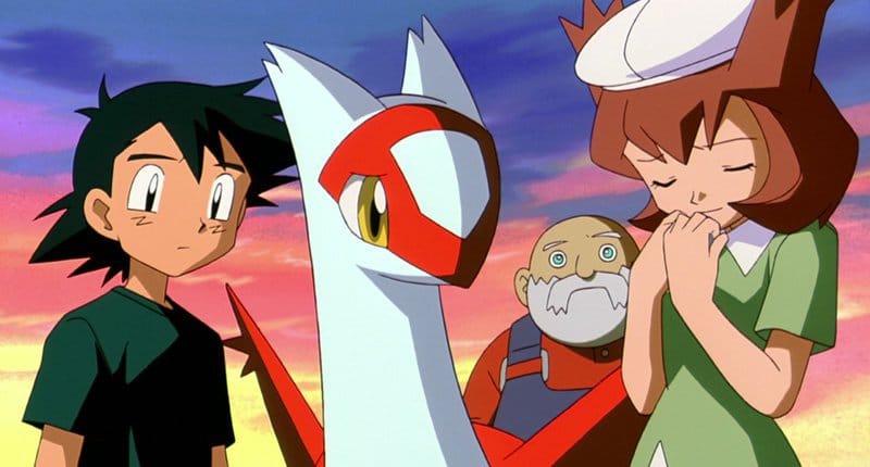 Artwork from Pokémon Heroes: Latios and Latias