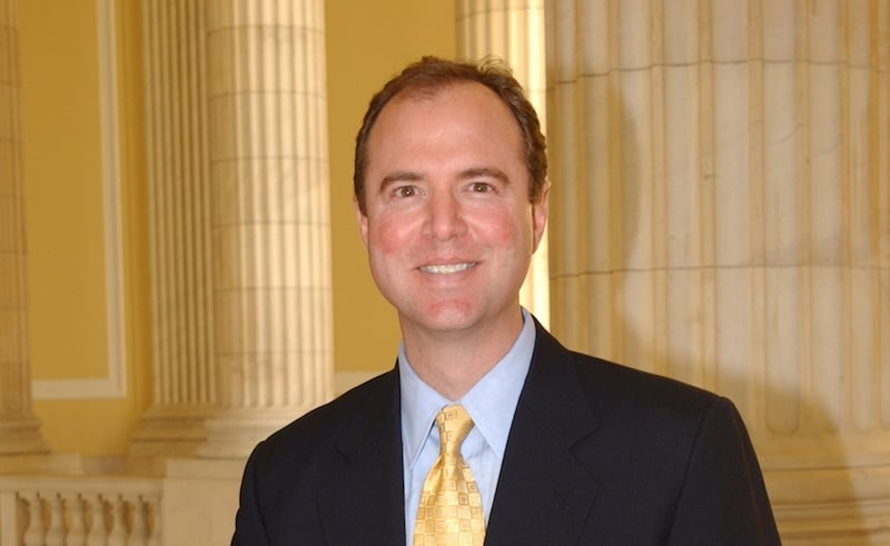 Congressman Adam Schiff, who is this week's top-of-the-show interview on Real Time with Bill Maher