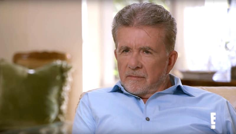 Alan Thicke facing the camera during his reading with Hollywood Medium Tyler Henry