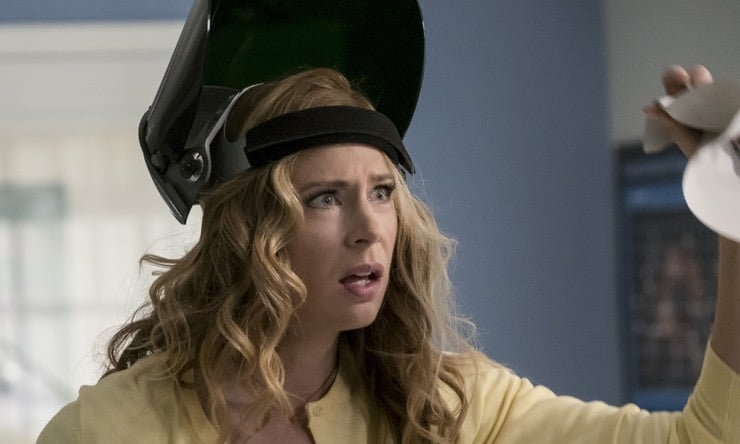 Anne Dudek as scientist Tracy Brand on The Flash
