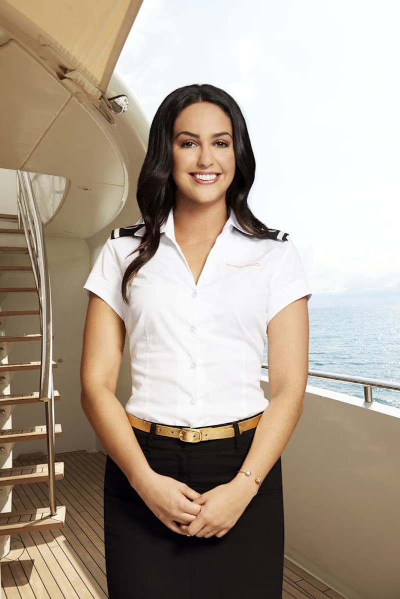 Lauren on Below Deck Mediterranean