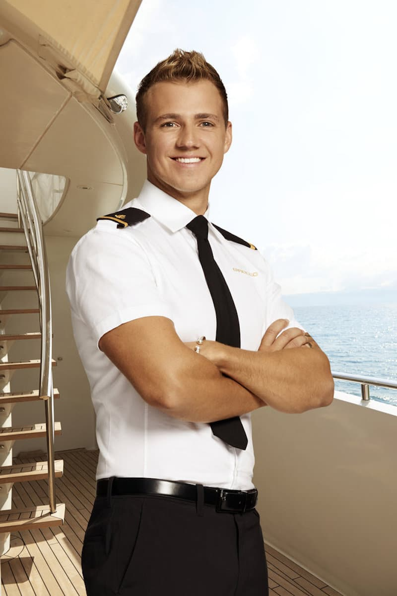 Max on Below Deck Mediterranean