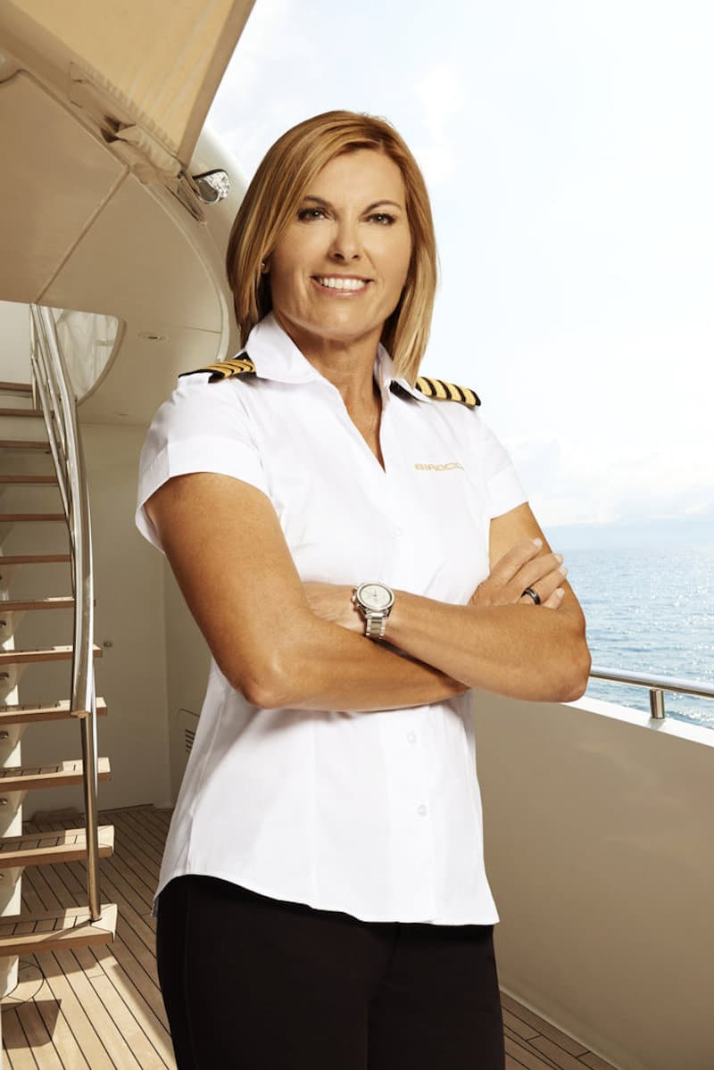 Sandy on Below Deck Mediterranean