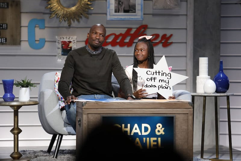 Chad Johnson and his daughter Cha'iel in a hilarious moment from Big Star Little Star