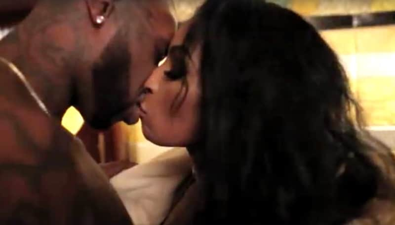 Ceaser gets intimate with Karlie Redd as Dutchess sees red on Black Ink Crew