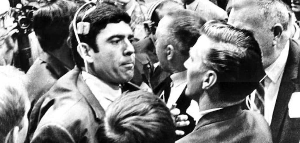 Image Result For DAN RATHER CONVENTION FLOOR 1968 IMAGES