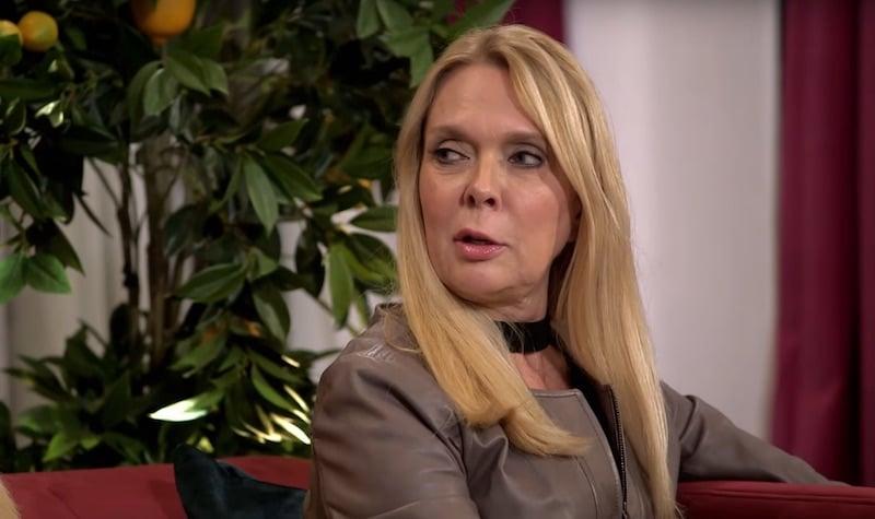 Debra glares at Farrah during their heated altercation