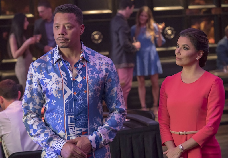 Lucious Lyon and Charlotte Frost standing side by side