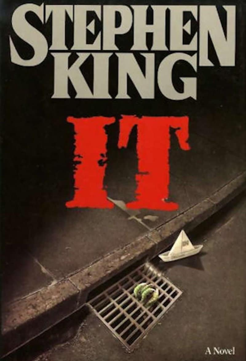 First edition cover of Stephen King's book IT