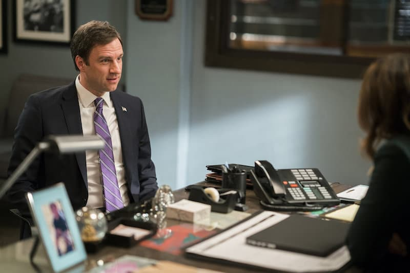 James Waterston as Congressman Luke Bolton on Law & Order: Special Victims Unit