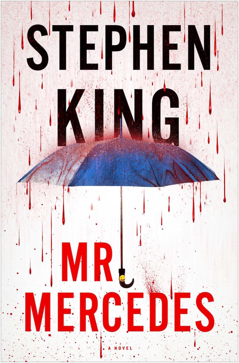 First edition cover of Stephen King's book Mr. Mercedes