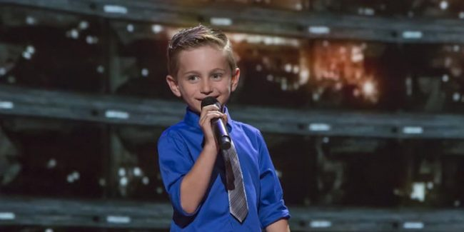 7-year-old stand-up comedian Nathan Bockstahler on Little Big Shots