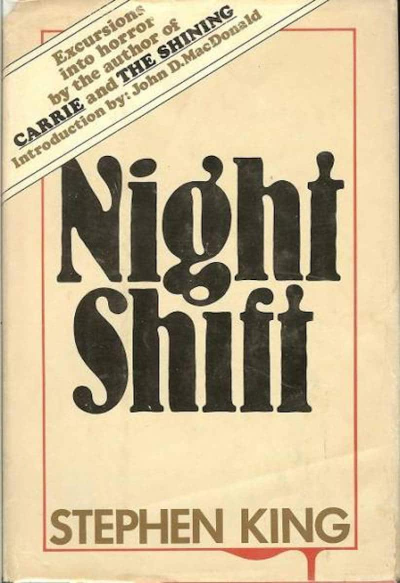 First edition cover of Stephen King's book Night Shift