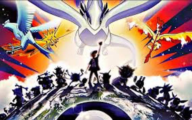 Artwork from Pokémon: The Movie 2000