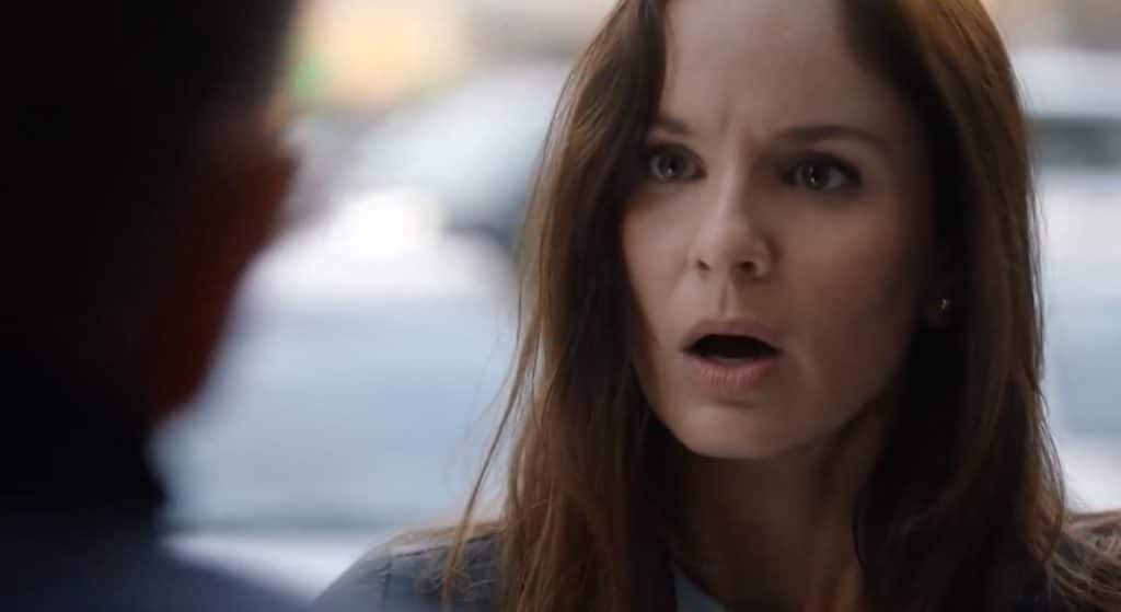 Sara gets the bad news about Jason on Prison Break