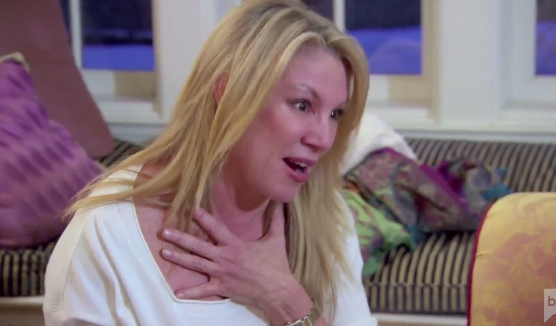 Ramona Singer crying on The Real Housewives of New York City
