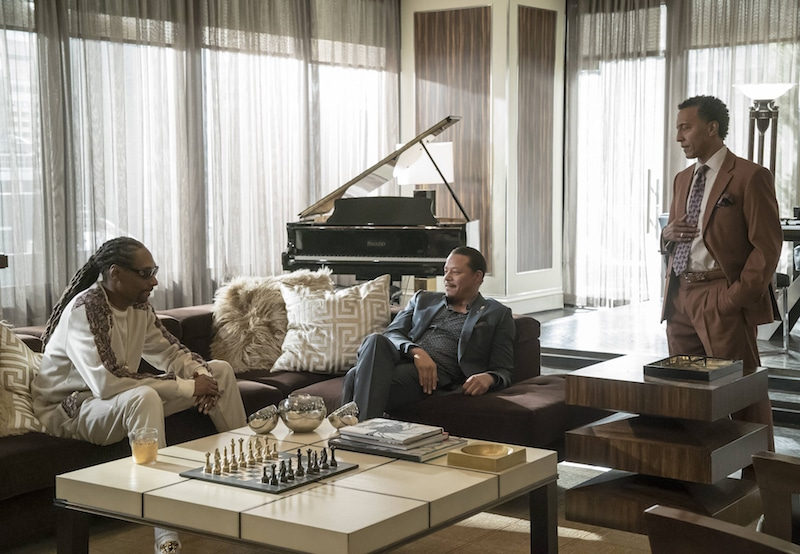 "Snoop, Lucious and Thurston ""Thirsty"" Rawlings talk it out"