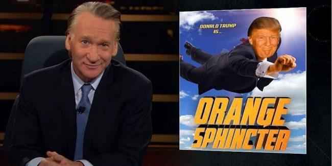 Bill Maher lambasts superhero-obsessed Hollywood and 'Orange Sphincter man' Donald Trump