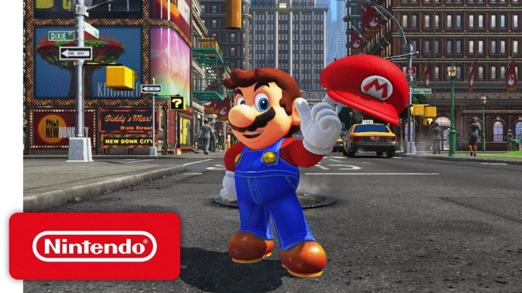 Super Mario Odyssey for Nintendo Switch debuts at E3 2017