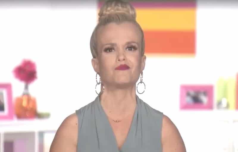 Terra Jole speaking to the camera on Little Women: LA