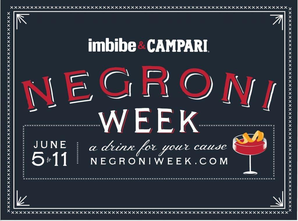 Negroni Week promotional poster