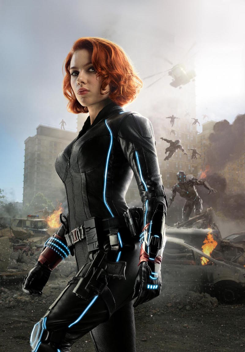 Scarlett Johansson talks Black Widow on Inside the Actors ...