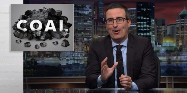 John Oliver slams Donald Trump over 'lies' to coal miners