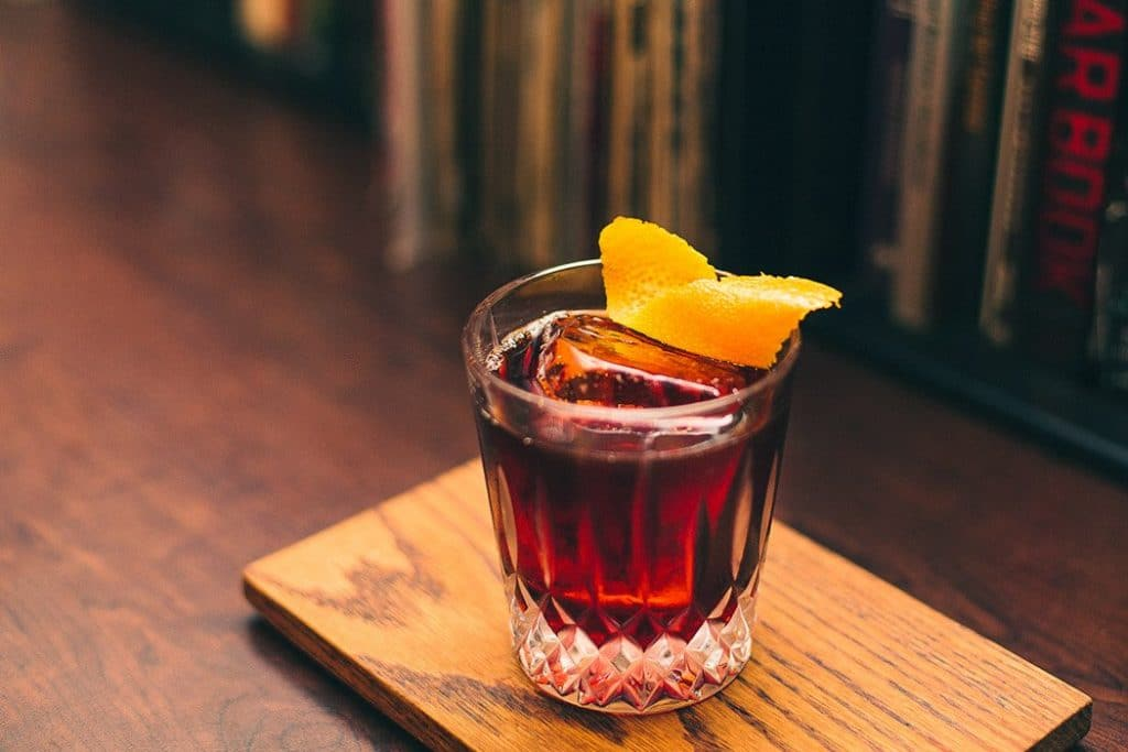 Picture of a Cold Brew Coffee Negroni
