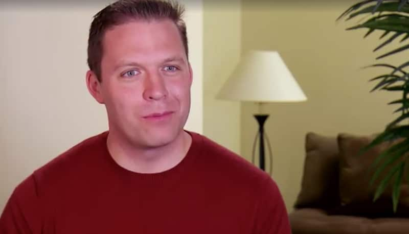 David talking to the camera on Married at First Sight: Second Chances